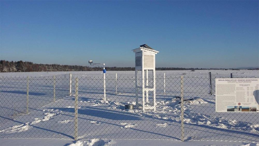 Meteo Podhale pomiary meteorologiczne